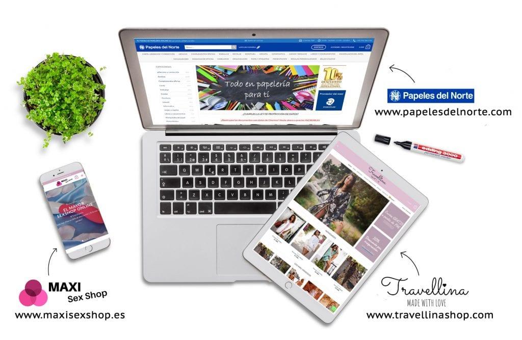 tienda online en internet