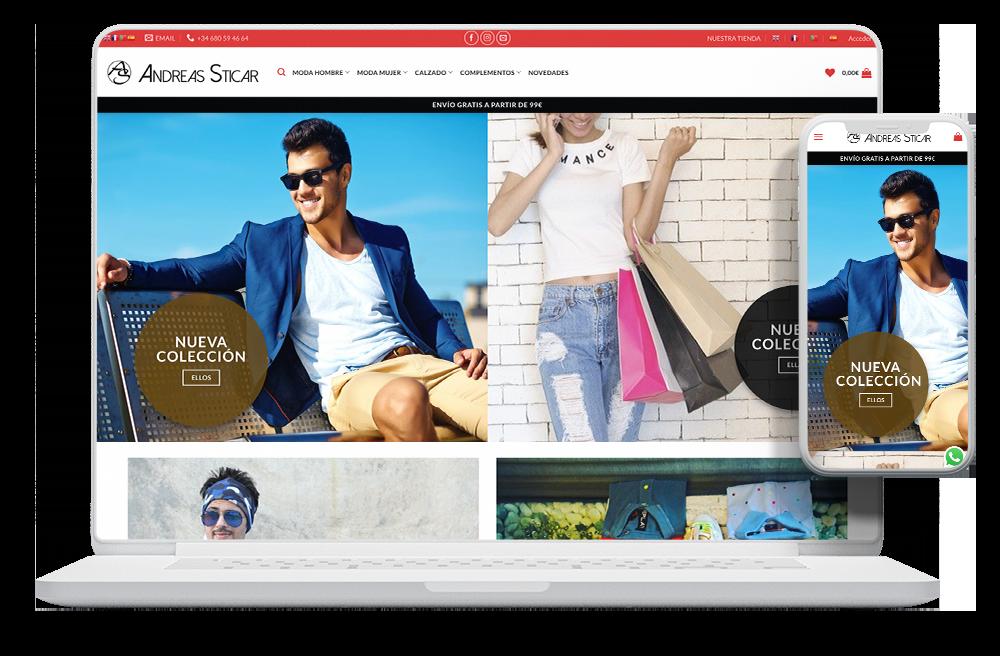 crear tienda online ropa