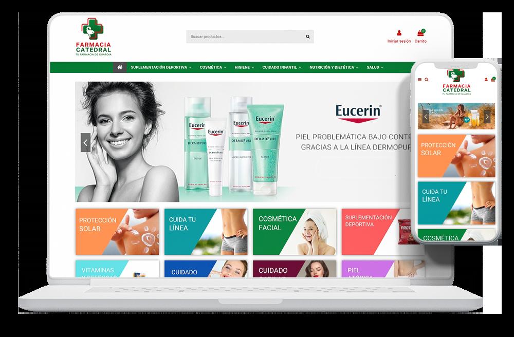 diseño tienda online farmacia