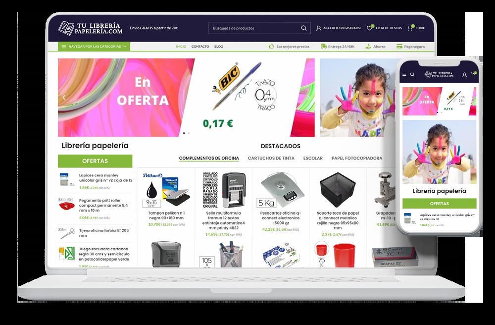 Diseño papelería online